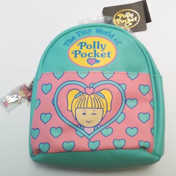 The Tiny World Of Polly Pocket Mini Backpack NWT Polly Pocket